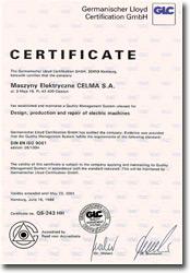 Certificat production JET France
