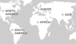 Carte implantation moteurs electriques Cantoni